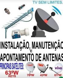 Técnico Antenista Sky-Claro-Oi Tv