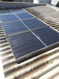 Placas de aquecimento solar