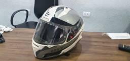 Capace mt Helmets com 2 viseiras