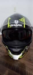 Capacete Shark D-Skwal 2 Noxxys Preto/amarelo 58