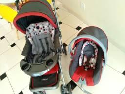 Vendo carrinho + bebê conforto (Curvelo)