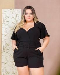Moda Plus Size / Macaquinho