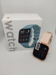 Relógio inteligente Smartwatch Colmi P8 Rose Gold