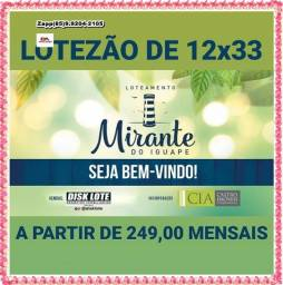 Loteamento Mirante do Iguape !!!!