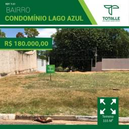 Título do anúncio: Terreno no Condomínio Lago Azul para Venda (333 m²)