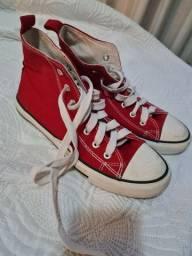 Tenis vermelho