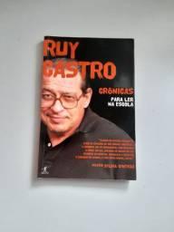 Livro Crônicas para ler na escola - Ruy Castro