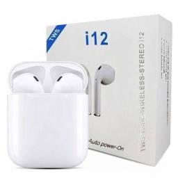 Entrega Grátis - Fone I12 Tws Bluetooth V5.0 Touch Ios / Android