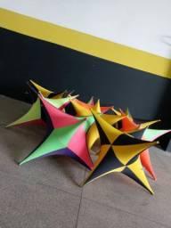 Estrelas Decorativas R$50,00 Cada Uma