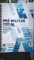 Apostilas militar com exercícios