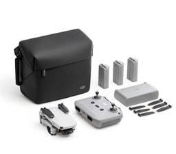 Drone DJI Mini 2 Combo Flymore o mais top Camêra 4k com 3 baterias zero na caixa