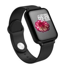 Smartwatch B57 Bluetooth Android ou Ios Medidor Cardíaco