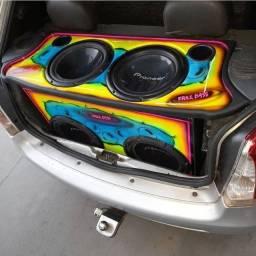 Vendo som do Fiat Palio Sapão