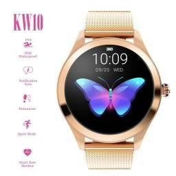 Relógio Feminino Smartwatch Luxo 100% Original compatível Android e IOS
