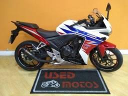 Honda CBR 500 R 2015 Branca