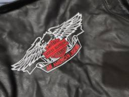 Jaqueta de couro legítimo Harley Davidson