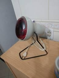 lampada infravermelho com suporte