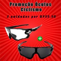 2 Óculos de Ciclismo - Promoção