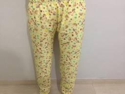 Calça de Pijama - Amarelo