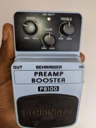 Pedal Behringer Booster Pré amp