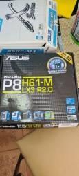 Placa mae Asus H61-M Lx3 R2.0