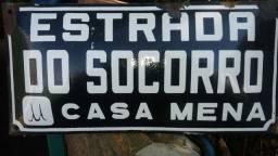 Placa indicativa de rua de São Leopoldo