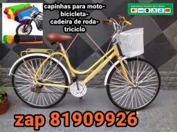 bicicleta capas