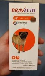 Bravecto cães comprimido 4,5 a 10 kg