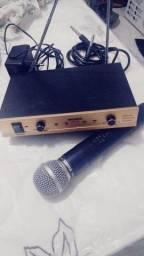 Equalizador e microfone