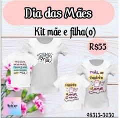Dia Das Mães-camisas personalizada