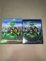 DVD Blu-ray 3D Lanterna Verde