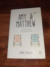 Livro Amy e Matthew