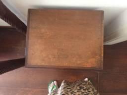 2 medas de cabeceira madeira maciça mogno