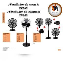 Ventilador de mesa ventilador coluna