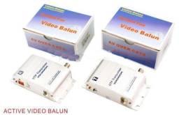 Kit Balun Ativo par Transmissor + Receptor 3000 metros