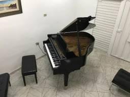 Piano 1/4 de Cauda Wurlitzer com Disk Play ( toca com e sem pianista)