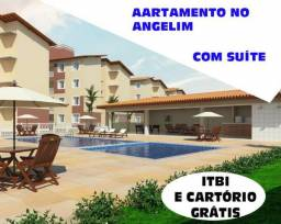 Apartamento no Coração do Angelim com Suíte e Varanda Gourmet