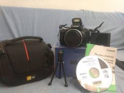 Câmera Semi-Professional Canon PowerShot SX50 HS Full HD 50X Optical ZOOM