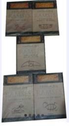 Coleção Ramsés Cristian Jacq 5 Livros