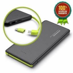 Carregador Portátil Bateria Externa Pineng 10000 mAh Slim