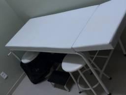 Maca Branca com Suporte para Papel