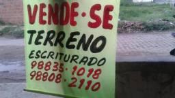 Vende se terreno no Marcos Freire 2