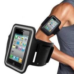 Capa para celular de braço, excelente para atividades físicas