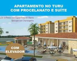 Lançamento Apartamento no Turu com Elevador Suite no Porcelanato