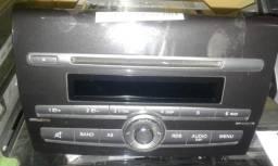 Título do anúncio: Rádio original Fiat Bravo 2014 Sem moldura