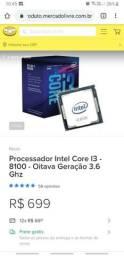 Processador I3 8°Geração
