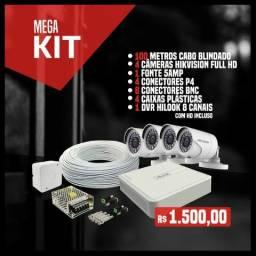 Mega kit câmeras full HD