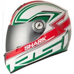 38de13beaf2e0 Capacete Shark RSI S2 Splinter WGR Verde Tri composto Fibra de Vidro