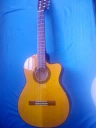 Instrumento musical - ViolaoTakamine (koreano) acoustic serie G + case termico