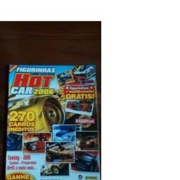Álbum de Figurinhas Hot Car 2006 Incompleto